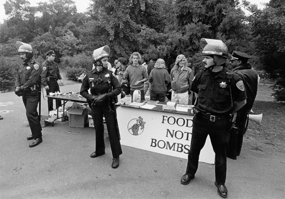 The 30th Anniversary of the first arrest of Food Not Bombs