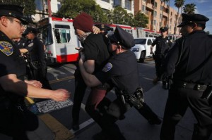 San Francisco Food Not Bombs Assaulted & Arrested on May Day