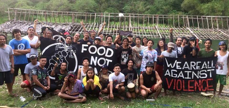 FOUR FOOD NOT BOMBS VOLUNTEERS WERE KILLED IN PHILIPPINE DRUG WAR AND ONE VOLUNTEER IS IN JAIL